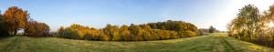 Hunte im Herbst