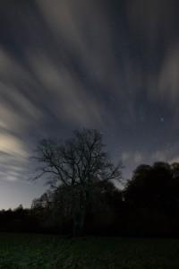Wolken bei Nacht