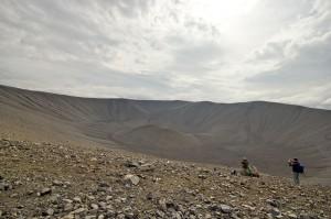 Hverfjall-Kraterrand